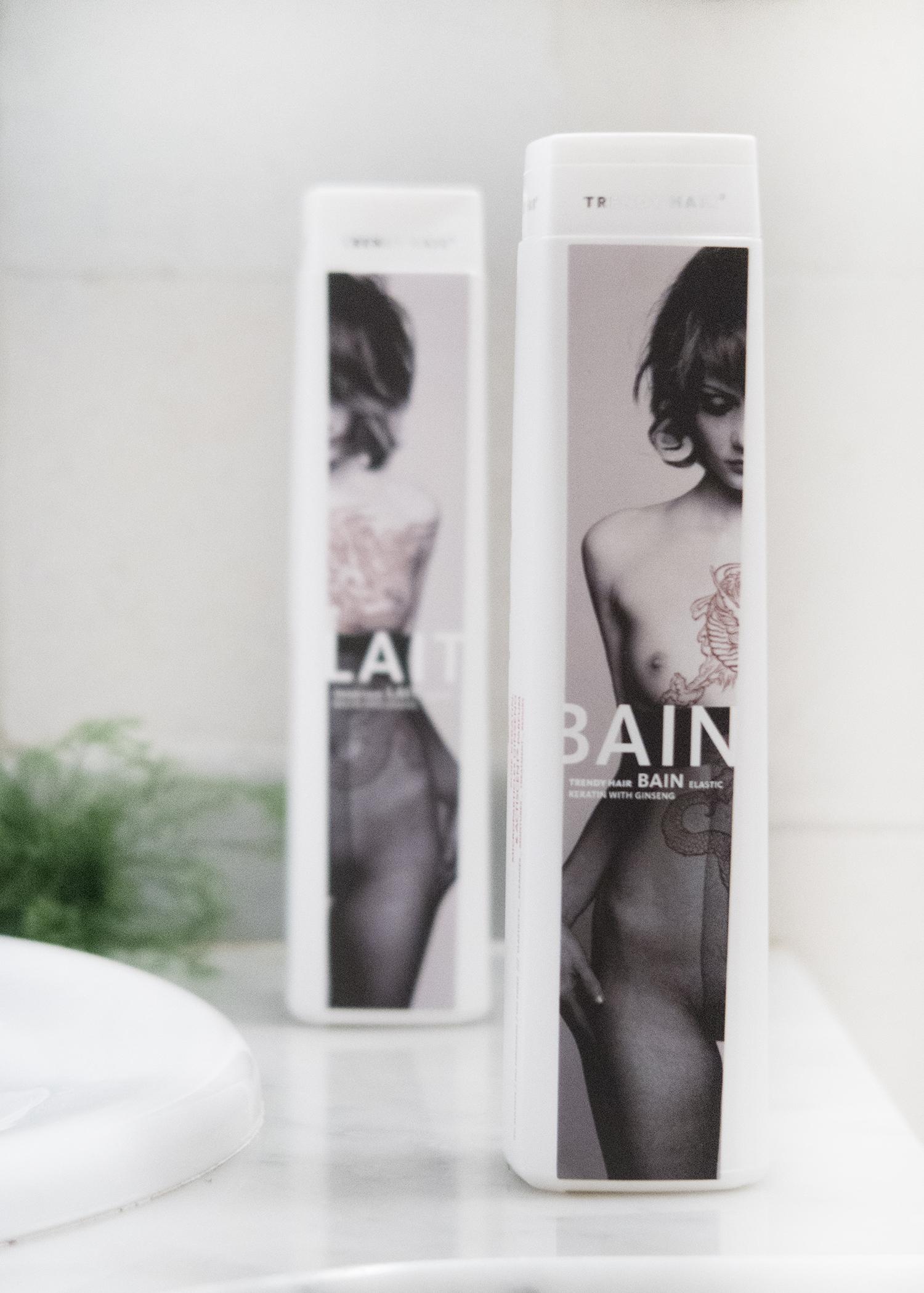 trendy hair lait